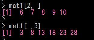 Rで行列の要素を操作する
