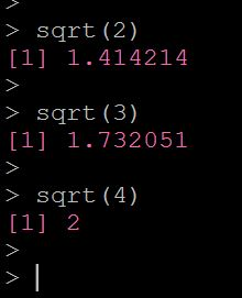 Rで平方根を計算する