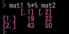 Rで行列のかけ算をする 行列積