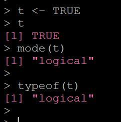 Rで論理値のデータ型を調べる