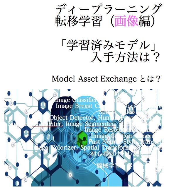 ディープラーニング 転移学習 学習済みモデル Model Asset Exchange 画像 image 2