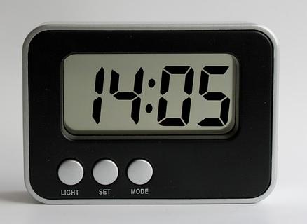 digital watch デジタル 画像処理