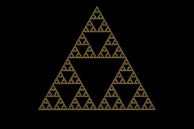 シェルピンスキー 三角形