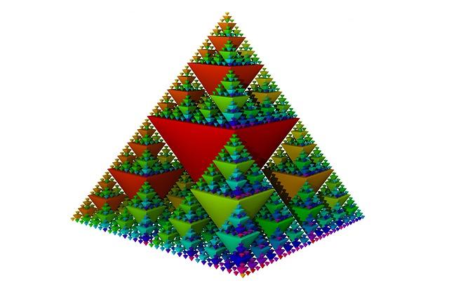 シェルピンスキー 四面体