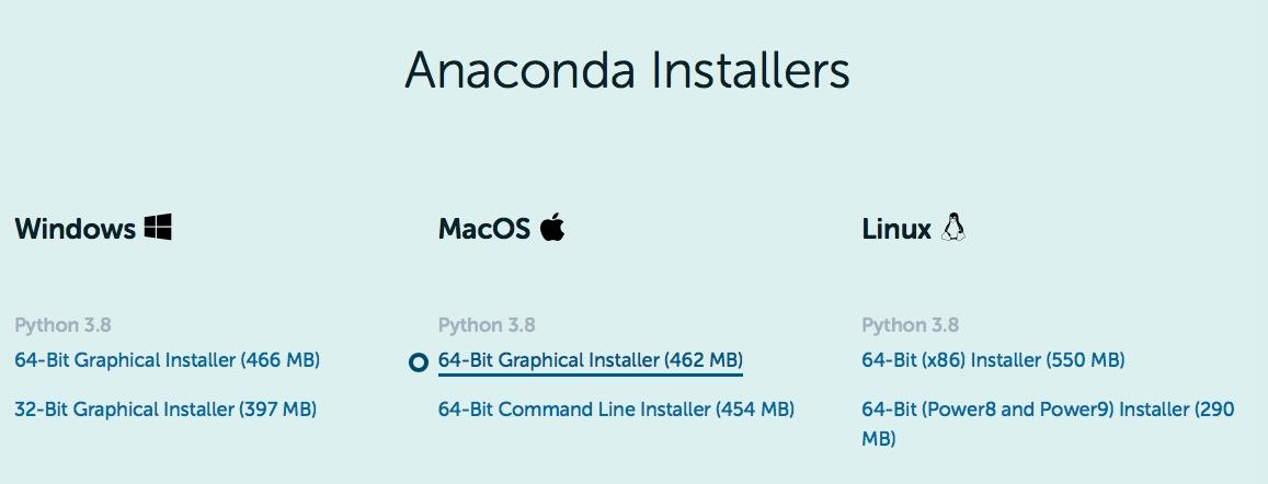 アナコンダ Anaconda インストール install やり方 windows mac linux Python 環境構築 4