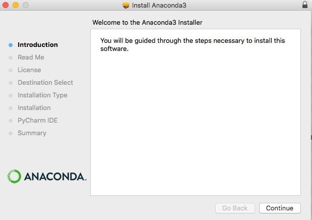 アナコンダ Anaconda インストール install やり方 windows mac linux Python 環境構築 5