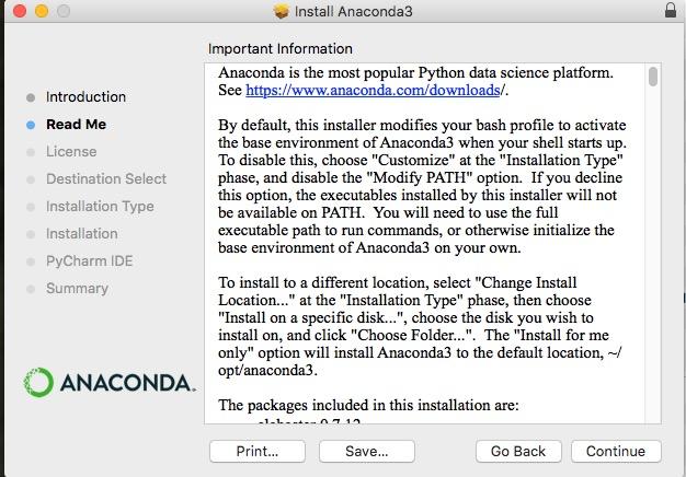 アナコンダ Anaconda インストール install やり方 windows mac linux Python 環境構築 6