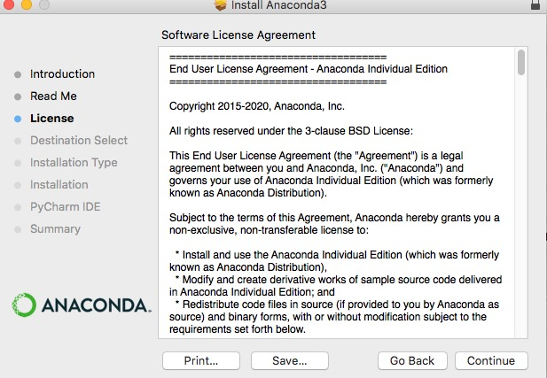 アナコンダ Anaconda インストール install やり方 windows mac linux Python 環境構築 7