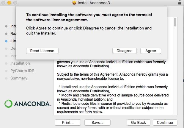 アナコンダ Anaconda インストール install やり方 windows mac linux Python 環境構築 8