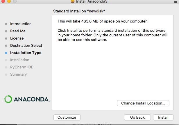 アナコンダ Anaconda インストール install やり方 windows mac linux Python 環境構築 9