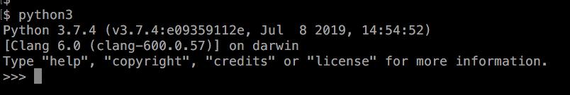 Python3 実行 方法